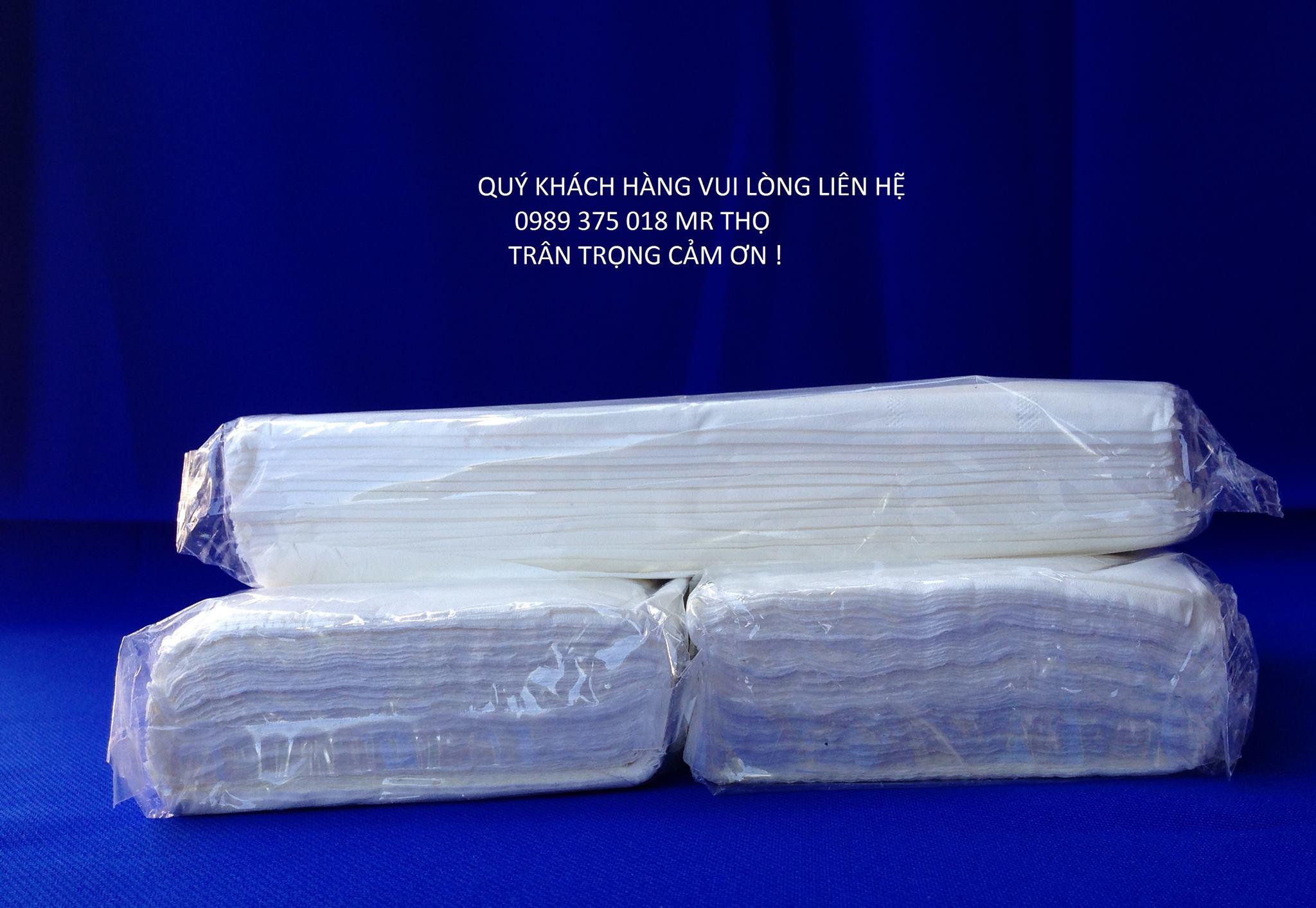 Giấy lụa rút sản xuất theo đơn đặt hàng của quý khách
